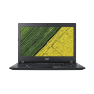 "ACER Aspire A315-51-37Y3, 15.6"" HD, Intel Core i3-8130U, 4GB, 256GB SSD, NO ODD, Intel HD Graphics 620, Elinux, Black"