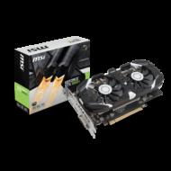 MSI Videokártya PCI-Ex16x nVIDIA GTX 1050 TI 4GT OC 4GB DDR5