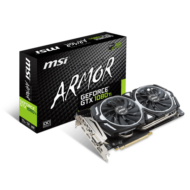MSI Videokártya PCI-Ex16x nVIDIA GTX 1080 Ti ARMOR 11GB DDR5X