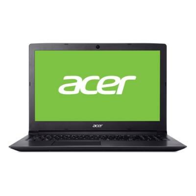 "ACER Aspire A315-33-P9XJ, 15.6"" HD, Pentium Quad Core N3710, 4GB DDR3L, 1TB HDD, NO ODD, IntelHD, Linux, fekete"