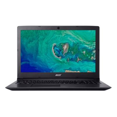 "ACER Aspire A315-33-P9XJ, 15.6"" HD, Pentium Quad Core N3710, 4GB DDR3L, 1TB HDD, NO ODD, IntelHD, Linux, fekete"