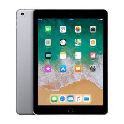 APPLE 9.7-inch, iPad 6, Cellular, 128GB - Space Grey (2018)