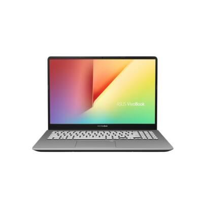 """ASUS NB VivoBook S530FN-BQ429TC, 15,6"""" FHD, Core i5-8265U (3,9GHz), 8GB, 256GB+1TB, NV MX150 2GB, Win 10, Szürke"""