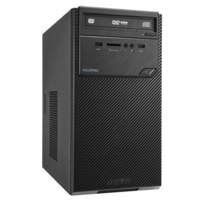 ASUS PC D320MT-I57400053D, Intel Core i5-7400 (3,5GHz), 4GB, 500GB HDD, DVD-RW, Intel HD Graphics, Endless, Fekete