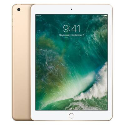 """Apple 9.7"""" iPad Wi-Fi 128GB - Gold (2017)"""