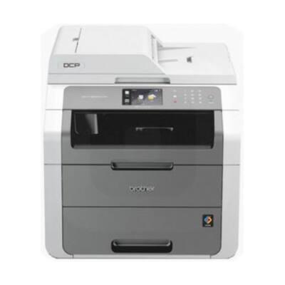 BROTHER Lézer MFP NY/M/S DCP-9020CDW, A4, színes, 18 lap/perc, WiFi/LAN/USB, ADF, duplex, 2400x600dpi, 192MB