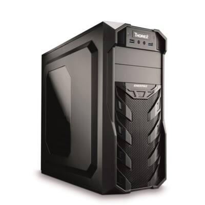 CHS PC Barracuda, AMD Ryzen 3 2200G 3.5GHz, 4GB, 120GB SSD, DVD-RW, Egér+Bill.
