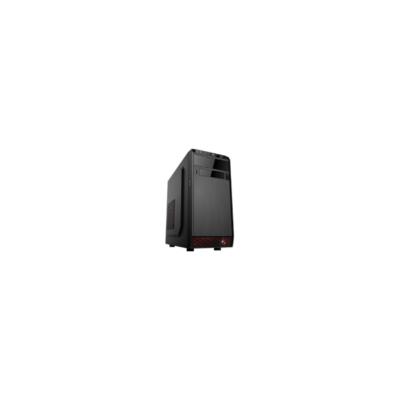 CHS PC Barracuda, Core i3-4170 3.7GHz, 8GB, 120GB SSD, DVD-RW, Egér+bill