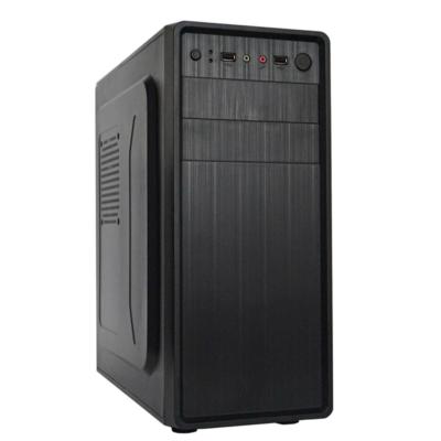 CHS PC Barracuda, Core i3-8100 3.6GHz, 8GB, 120GB SSD, DVD-RW, Egér+Bill