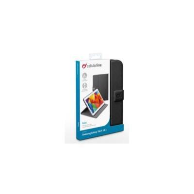 """Cellularline Tok, FOLIO, tablet, kitámasztható, Samsung Galaxy Tab 4  10.1"""" T530, T535, fekete"""