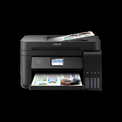 EPSON Tintasugaras nyomtató - EcoTank L6190 (A4, MFP, színes,4800x1200 DPI,33 lap/perc, duplex, ADF, USB/LAN/Wifi)