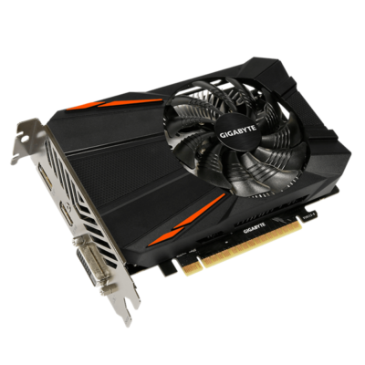 GIGABYTE Videokártya PCI-Ex16x nVIDIA GTX 1050 Ti 4GB DDR5 OC