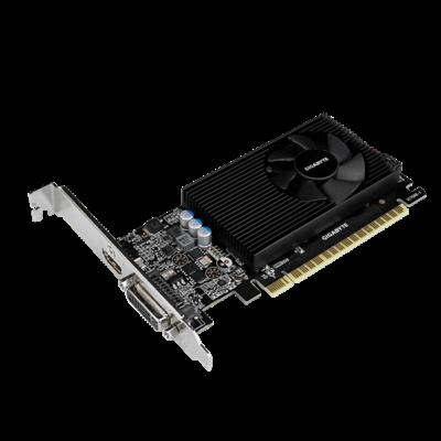 GIGABYTE Videokártya PCI-Ex16x nVIDIA GT 730 2GB DDR5