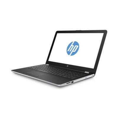 "HP 15-BS002NH, 15.6"" FHD AG Intel Celeron N3060, 4GB, 128GB SSD, Intel HD400, Természetes ezüst, DOS, 3 év gar."