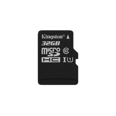 KINGSTON Memóriakártya MicroSDHC 32GB CL10 UHS-I Canvas Select (80/10) Adapter nélkül