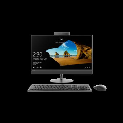 "LENOVO IdeaCentre AIO 520-24IKL, 23,8"" FHD NT, Intel Core i5-7400T, 8GB, 1TB+128GB M.2, AMD Radeon 530-2G, No OS, Black"