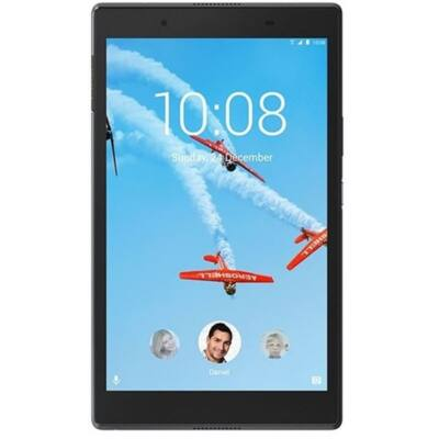 "LENOVO Tab4 8 (TB-8504X), 8"" HD IPS, Qualcomm MSM8917 Quad-Core, 2GB, 16GB EMMC, 4G LTE, Android 7.1, Fekete"