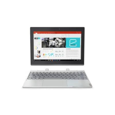 "LENOVO Tab MIIX 320-10ICR,  10.1""FHD  IPS Touch, Intel Atom Z8350, 4GB, 64GB eMMC,  Win10 PRO, Ezüst, Hun KybDock"