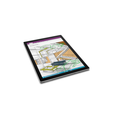 "Microsoft Surface Pro 4 - 12.3"" (2736 x 1824) - Core M (HD 515) - 4 GB RAM - 128 GB SSD - No Pen - Windows 10 Pro Eng"