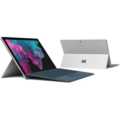 "Microsoft Surface Pro 6 - 12.3"" (2736 x 1824) - Core i7 (8650U, HD 620) - 16GB RAM - 512GB SSD - Windows 10 Pro Eng, Plt"