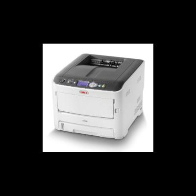OKI Lézer LED nyomtató C612n színes, 256MB, USB/Háló, A4 FF 36lap/perc, 34 lap/p szines, 600x1200 dpi