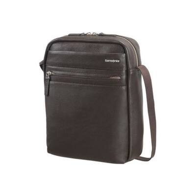 "SAMSONITE BŐR Tablet táska 73087-1251, CROSSOVER 10.1"" (DARK BROWN) -HIP-CLASS LTH"