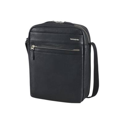 "SAMSONITE BŐR Tablet táska 73087-1041, CROSSOVER 10.1"" (BLACK) -HIP-CLASS LTH"