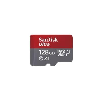 SANDISK Memóriakártya ULTRA KÁRTYA 128GB, 98MB/s CL10/UHS-I/A1