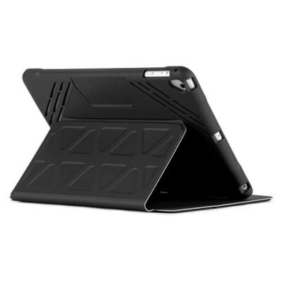 "TARGUS Tablet tok THZ635GL, 3D Protection iPad (2018/2017), 9.7"" iPad Pro, iPad Air 2, iPad Air Case - Black"