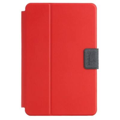 "TARGUS Tablet tok, SafeFit 7-8"" Rotating Universal Tablet Case - RED"