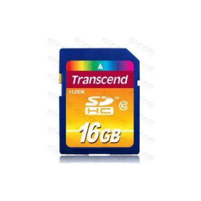 Transcend Memóriakártya SDHC 16GB Class10