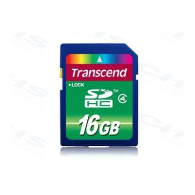 Transcend Memóriakártya SDHC 16GB Class4 (SD 2.0)